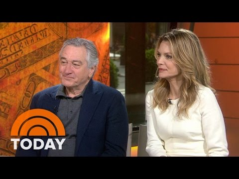 Robert De Niro, Michelle Pfeiffer On 'Wizard of Lies,' Bernie Madoff Scandal | TODAY