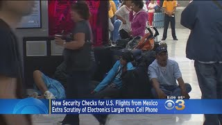 New Security Checks From U.S. Flights From Mexico