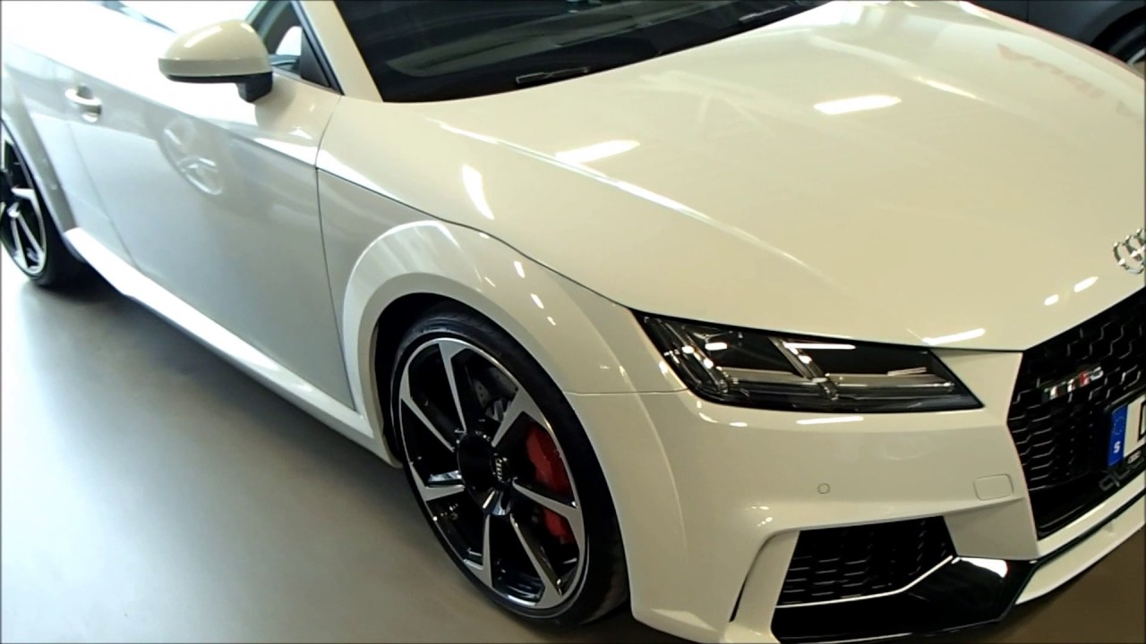 2017 Glacier White Audi Tt Rs Coup 233 2 5 Tfsi 400ps Exterior Interior Youtube