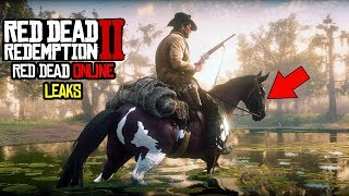 *NEW* RED DEAD REDEMPTION 2 LEAKS! Red Dead Online Leaked, Horses, Camp Sites and More!