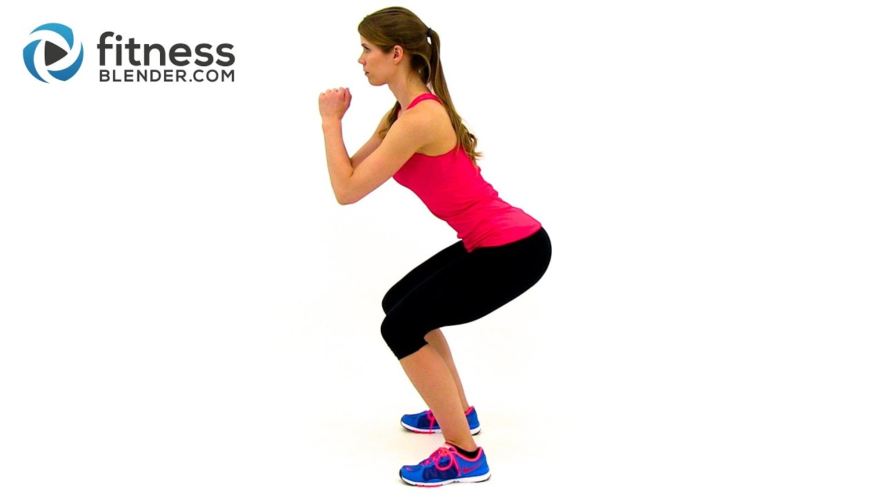 100 Rep Squat Challenge Created by Fitness Blender
