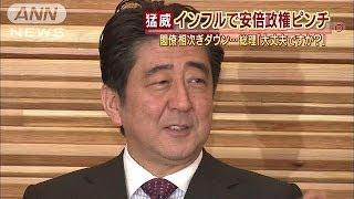 総理「大丈夫ですか?」閣僚インフルで相次ぎダウン(14/02/04)