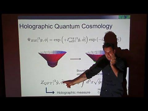 Holographic Quantum Cosmology | Thomas Hertog
