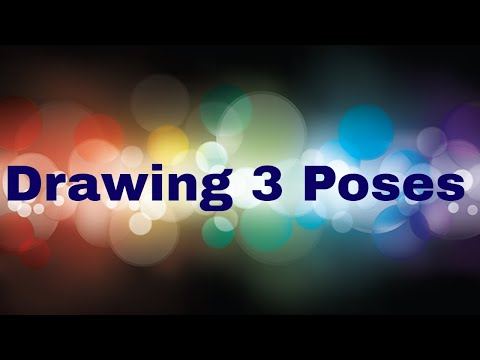 Drawing 3 Poses Feel So Good 3rd Prototype [Copyright Free Music]