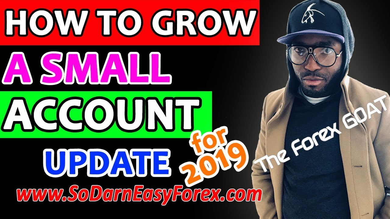 Growing small forex account