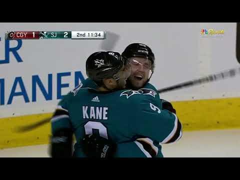 Calgary Flames vs San Jose Sharks - March 24, 2018   Game Highlights   NHL 2017/18