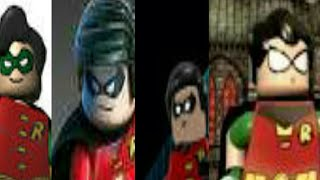 Robin Evolution In LEGO® Games