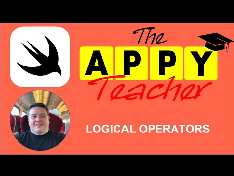 Swift 5 Programming for Beginners - LOGICAL OPERATORS - (Lesson 3/9) thumbnail