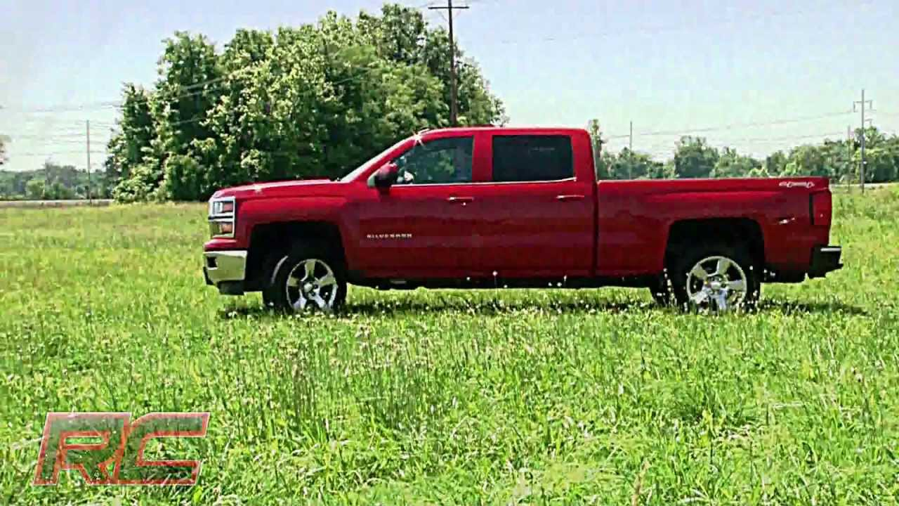 2014 Chevrolet Silverado And Gmc Sierra 1500 4wd 2 Leveling Kit By