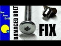 Fixing Damaged Bolts with a Tap and Die Set for Beginners