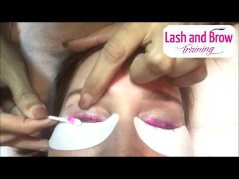 Eyelash Perm training Eyelash Lash Lift Step By Step Process