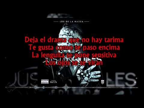 Justin Quiles - Un Rato LETRA (Lyrics video) Los de la Nazza Reggaeton 2016[Lo más nuevo]