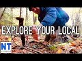 Exploring your local area for history with a metal detector