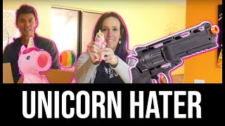 Unicorn Popper Head Shot + Elite Force H8er