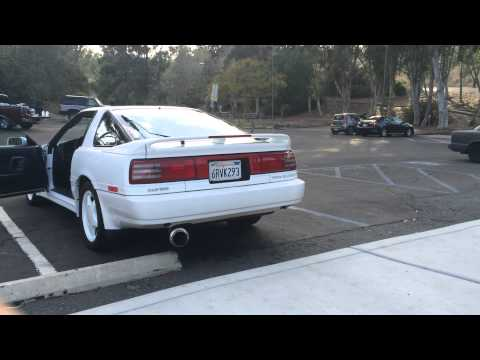 1991 Toyota Supra Turbo MK3 - May 3, 2015 - Exhaust And Engine Sound