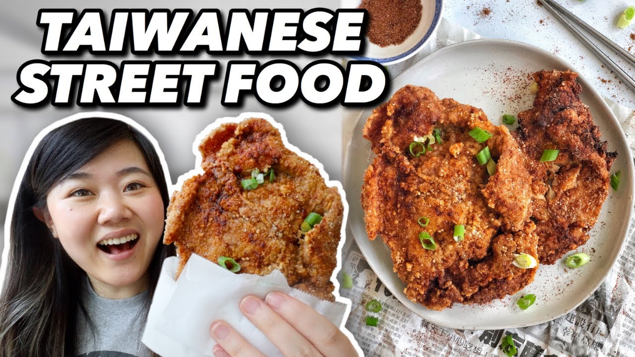 I Tried Making Taiwanese XXL Fried Chicken From Scratch (Taiwan Street Food Recipes) 雞排