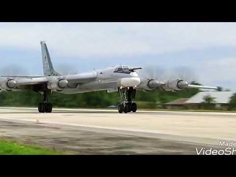 Pesawat Pembom RUSIA Mendarat di Papua..ada apa?