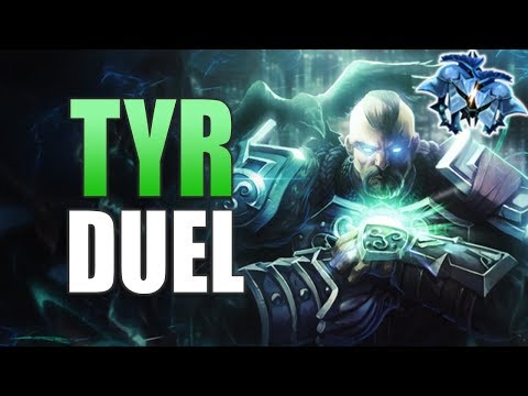 SMITE Ranked Duel - Tyr (Diamond 2) SALTY MAST!