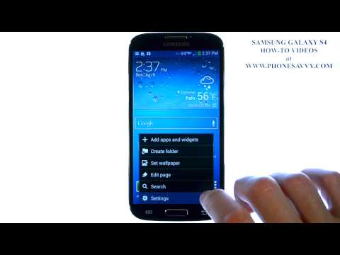 Samsung Galaxy S4 - How Do I Sync Contacts With My Gmail Account
