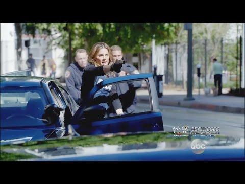 "Castle 7x19 ""Habeas Corpse"" Castle Beckett Raid Arrest Scene w/ Espo Ryan"