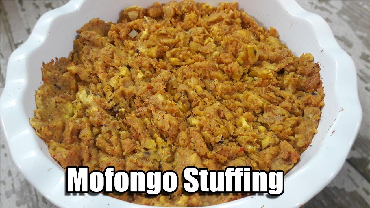 receta de pavo relleno con mofongo