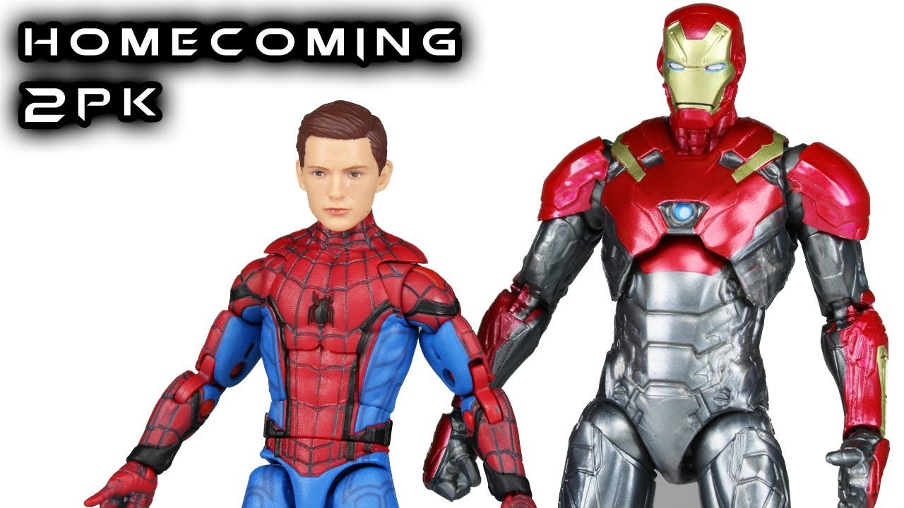 Marvel Legends Spider Man Iron Man Homecoming 2 Pack 6 inch Action Figure Toys