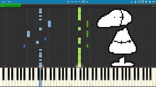 Anticipation - Undertale (Piano sheet music/MIDI) (Synthesia)