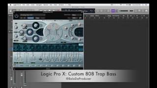 Logic Pro X: إنشاء مخصص 808 فخ باس
