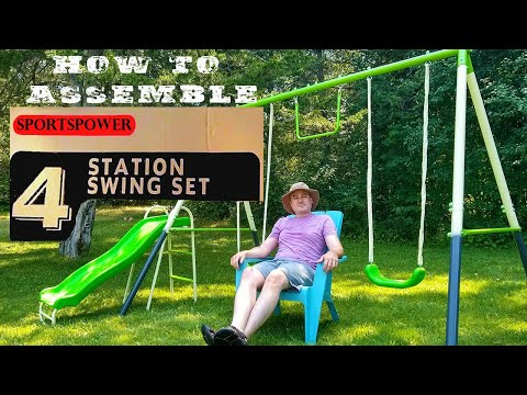 How To Assemble a Swing Set - Sportspower