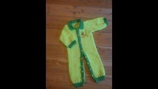 Вязаный крючком комбинезон (Crochet)