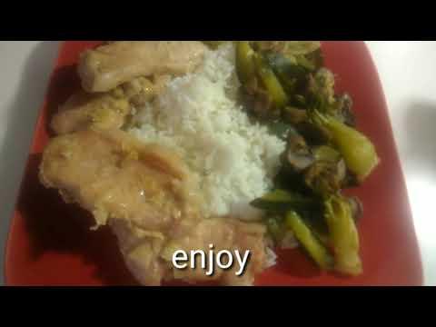 BBQ Pork Chops With Vegetables