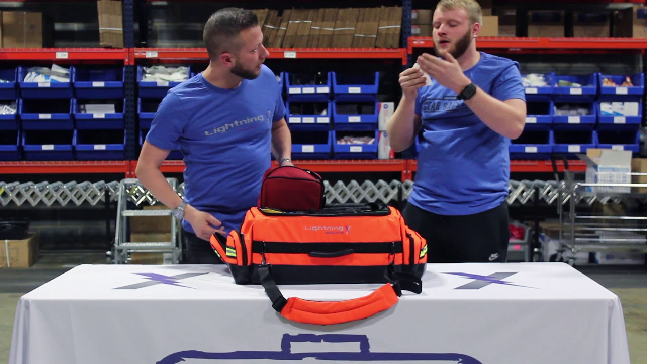 Lightning X Warehouse Series Episode 11 Lxmb65 Modular O2 Trauma Bag How To Emble