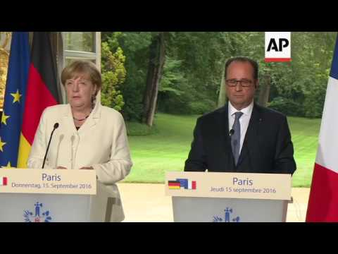 Merkel: Europe is at a decisive moment