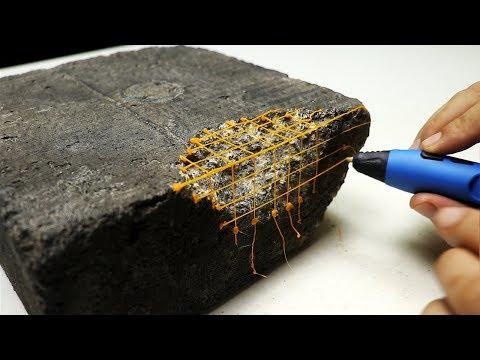 Concrete Repair using a 3d Pen