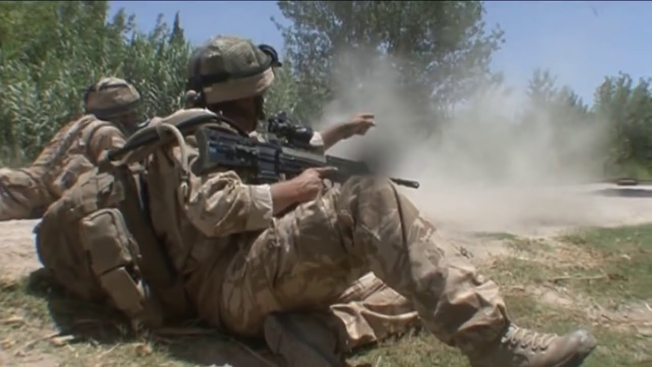 Download On the frontline with British troops in Afghanistan