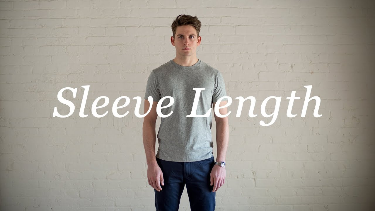 How To Measure Your Body: Sleeve Length