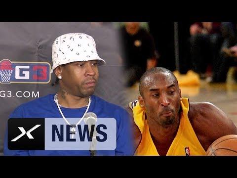 """Allen Iverson: """"Kobe Bryant hat mich besser gemacht""""   BIG3   NBA"""