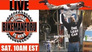 "Bike Shop LIVE - BikemanforU S4E16  ""Spring Is Sprung"" 04/16/16"
