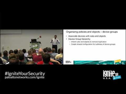 Best Practices for the Centralized Firewall Management Using Panorama