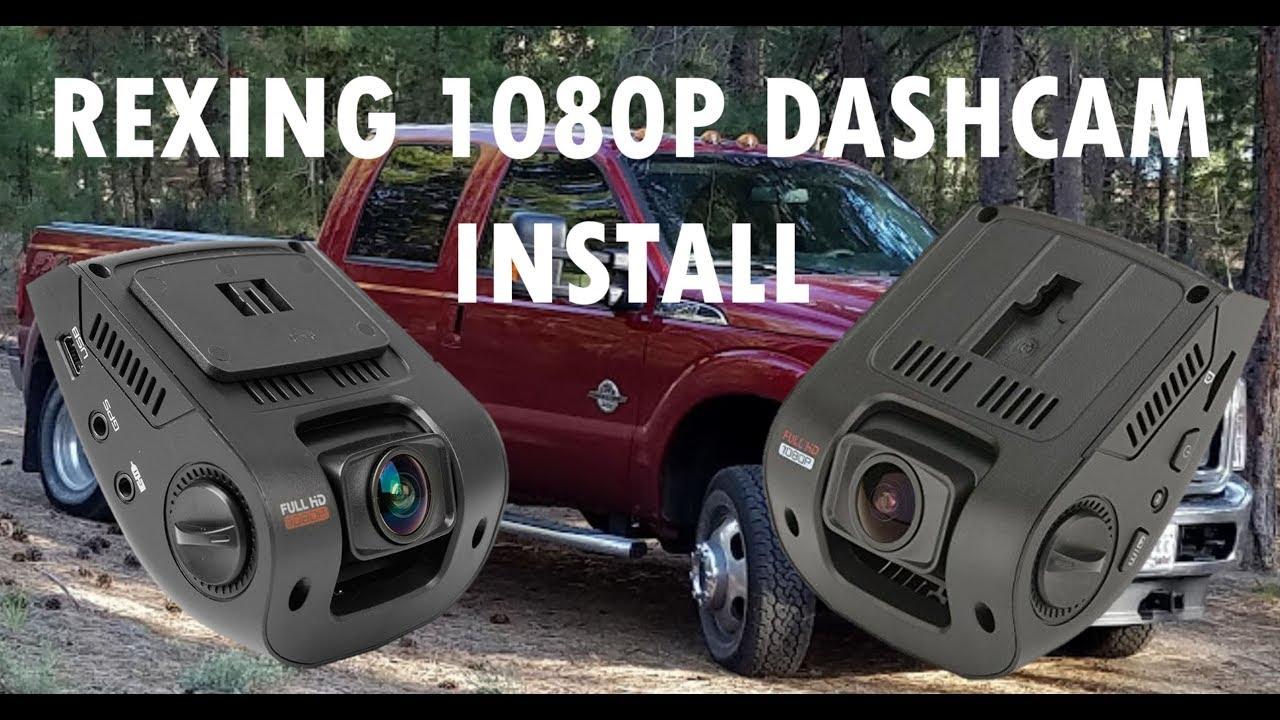 Rexing V1 1080p Dashcam Installation