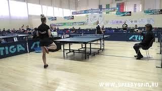 Vishniakova - Muravieva.Teams 1/4 finale. V летняя Спартакиада молодежи России