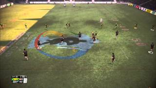 Australia vs New Zealand World Cup Final - Rugby League Live 2 World Cup Edition Gameplay