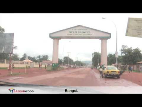 1ere Carte postale de la ville de Bangui par BANGUIWOOD TV