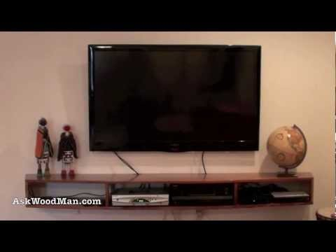 1 of 28 • Building An Entertainment Center for Flat Screen TV: A Furniture Project