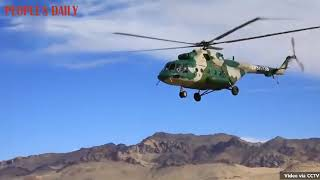 PLA Xinjiang Military Command successfully conducted a high-altitude flying training