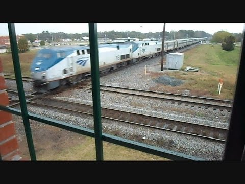 Amtrak And CSX Trains Near Collisions At The Diamond