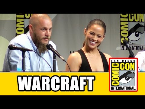 Warcraft Comic Con Panel - Travis Fimmel, Paula Patton, Toby Kebbell, Ben Foster, Dominic Cooper