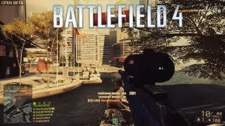 "Battlefield 4: Amazing Quickscope Sniper Feeds ""Only Skill"" 