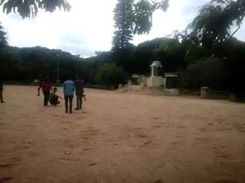 PhD CHILDRENS playing in IISC main building