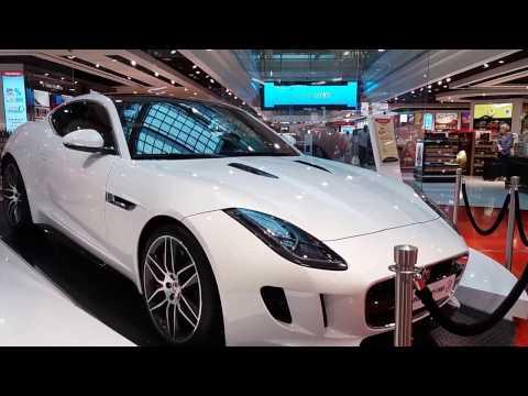 DUTY FREE Super Cars at Dubai Airport|BMW 7 Series, F TYPE Black, White